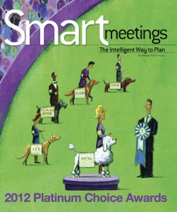 Smart Meetings featuring Just Right Destination Management going paperless